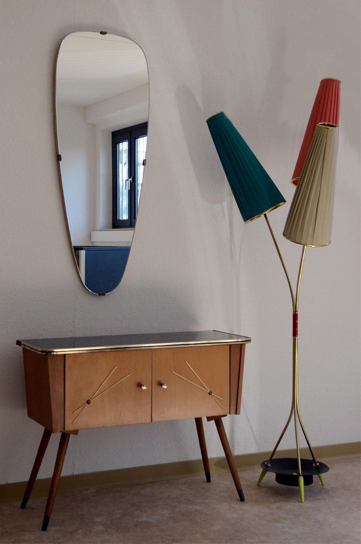 50er 60er jahre t tenlampe lampe stehlampe rockabilly tulpenlampe nierentisch ebay. Black Bedroom Furniture Sets. Home Design Ideas