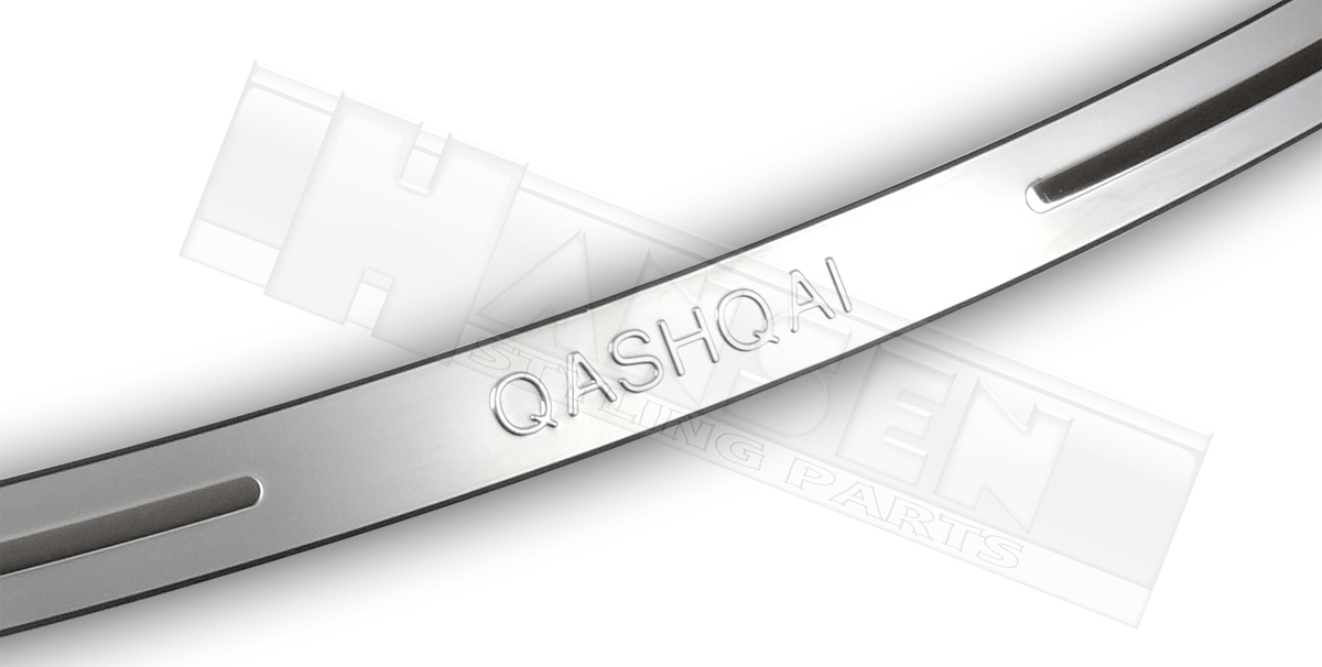 heckschutz nissan qashqai j10 07 13 kantenschutz tuning. Black Bedroom Furniture Sets. Home Design Ideas