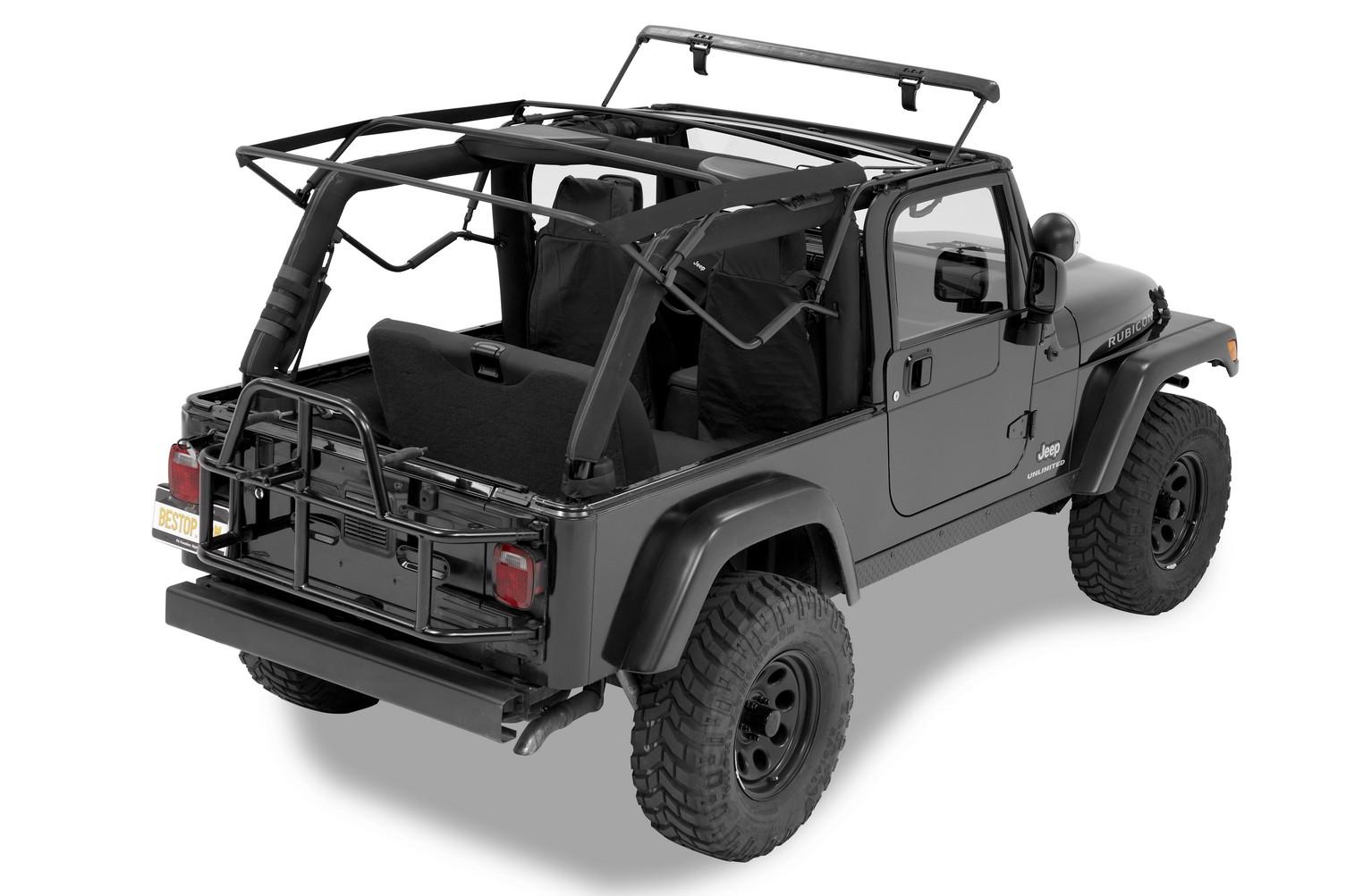 supertop nx twill negro jeep wrangler tj 97 06 54820 17 capota softtop ebay. Black Bedroom Furniture Sets. Home Design Ideas