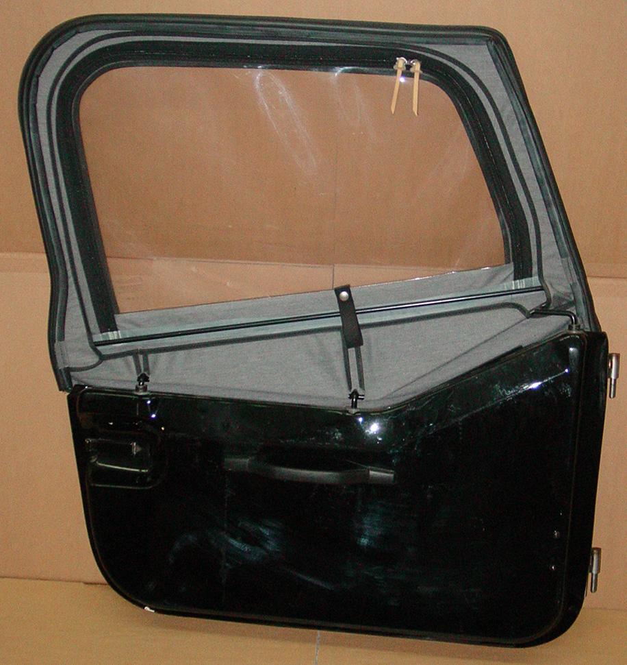 gfk halbt r teilbare t r verdeck jeep cj wrangler yj. Black Bedroom Furniture Sets. Home Design Ideas