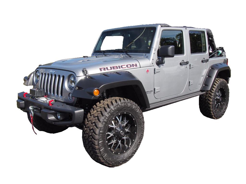 jeep wrangler jk 07 4 st ck kotfl gelverbreiterung 4. Black Bedroom Furniture Sets. Home Design Ideas