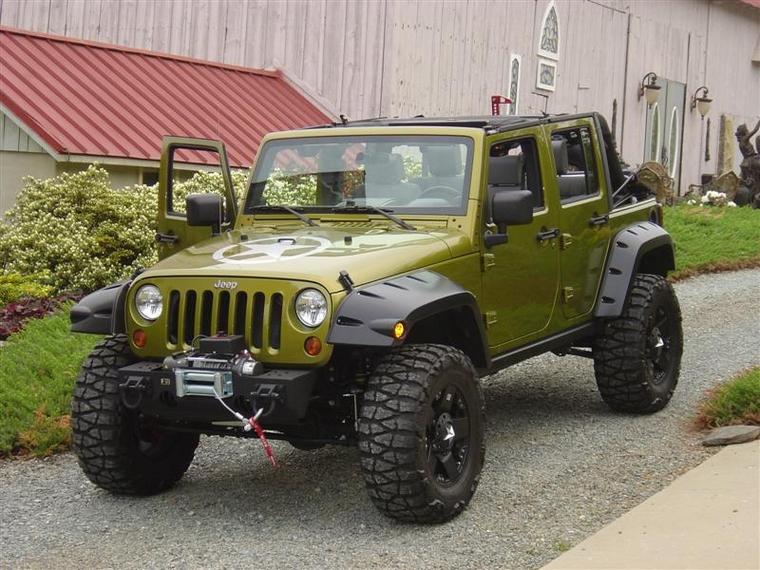 kotfl gelverbreiterung jeep wrangler jk 2007 4 t rer. Black Bedroom Furniture Sets. Home Design Ideas