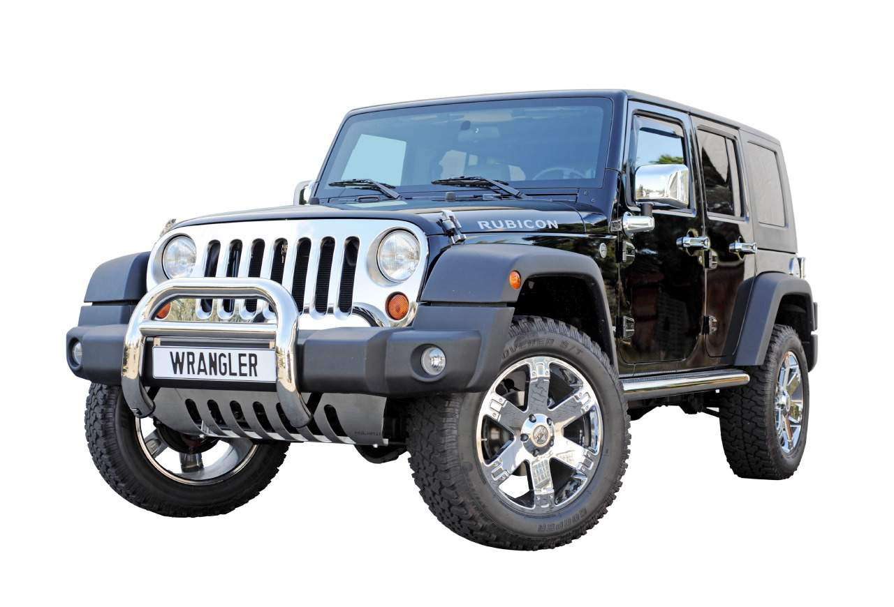 jeep wrangler jk 2007 2012 chrome grill cover stainless steel k hlergrillblende ebay. Black Bedroom Furniture Sets. Home Design Ideas