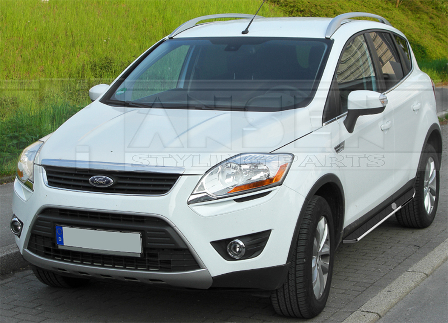 schwellerrohre ford kuga 2013 mit t v running boards. Black Bedroom Furniture Sets. Home Design Ideas