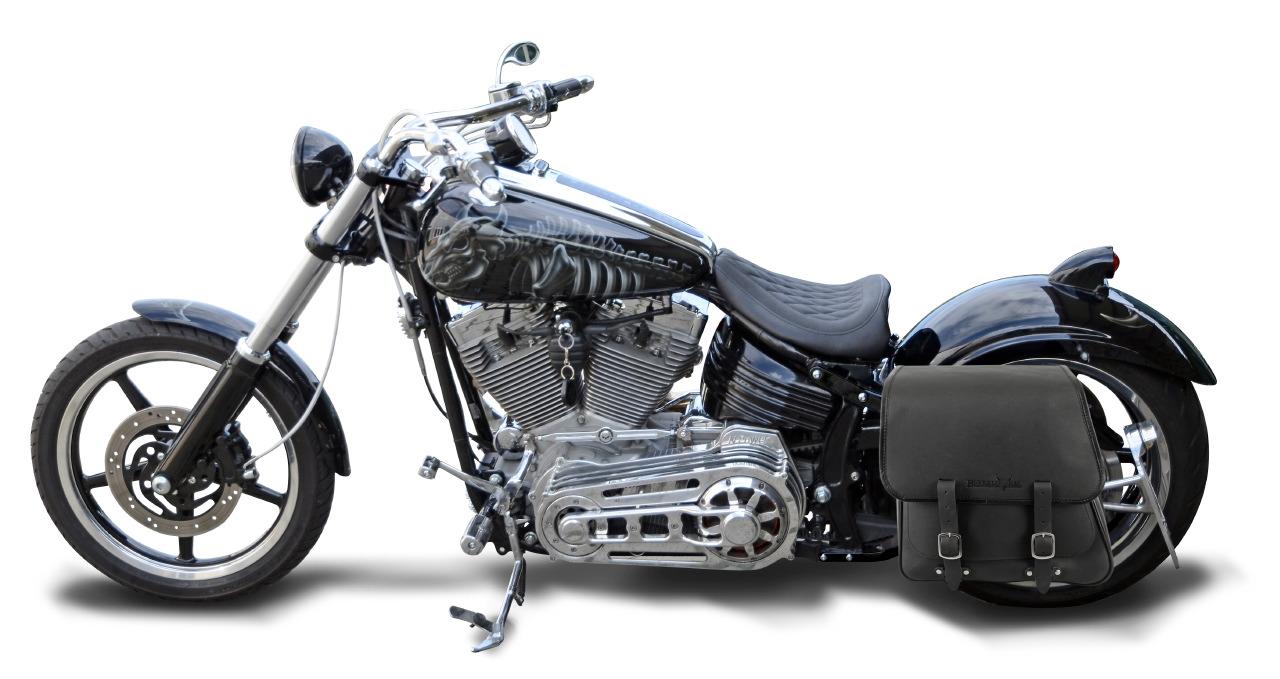 solo saddlebag rocker 28 liter for harley davidson. Black Bedroom Furniture Sets. Home Design Ideas