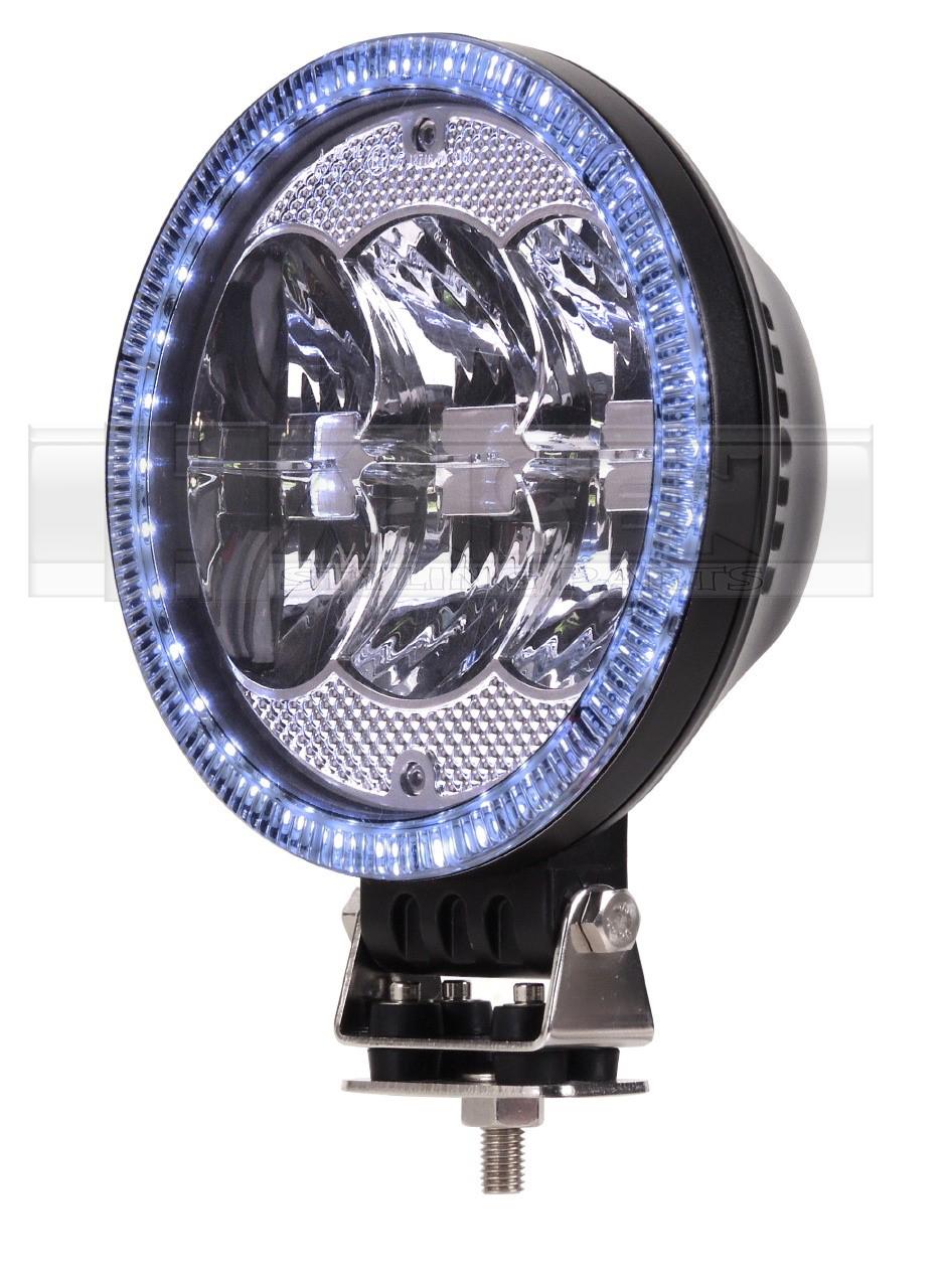 mit t v led fernscheinwerfer 12 24v f r berrollb gel. Black Bedroom Furniture Sets. Home Design Ideas