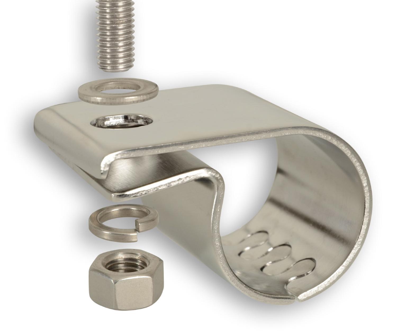 schelle rohrschelle halterung 41 bis 43mm rohrdurchmesser. Black Bedroom Furniture Sets. Home Design Ideas