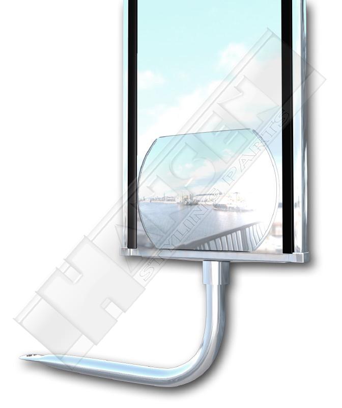 weitwinkelspiegel spiegel zusatzspiegel lkw transporter ebay. Black Bedroom Furniture Sets. Home Design Ideas
