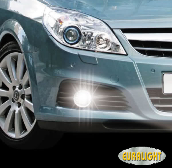 Opel Vectra C Ausschnitt led drl daytime running lights vauxhall opel vectra c 2005 2008 ebay vectra c fog light wiring diagram at beritabola.co