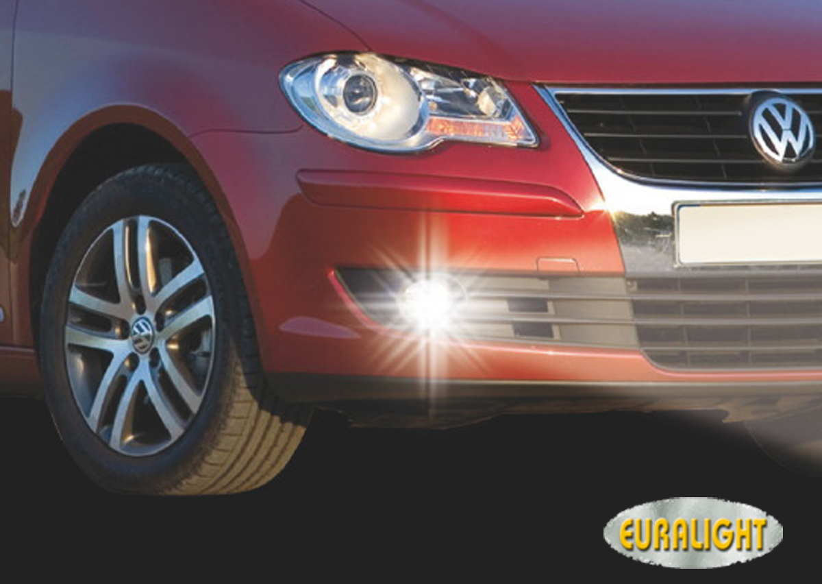 led drl daytime running lights volkswagen vw touran 2006. Black Bedroom Furniture Sets. Home Design Ideas