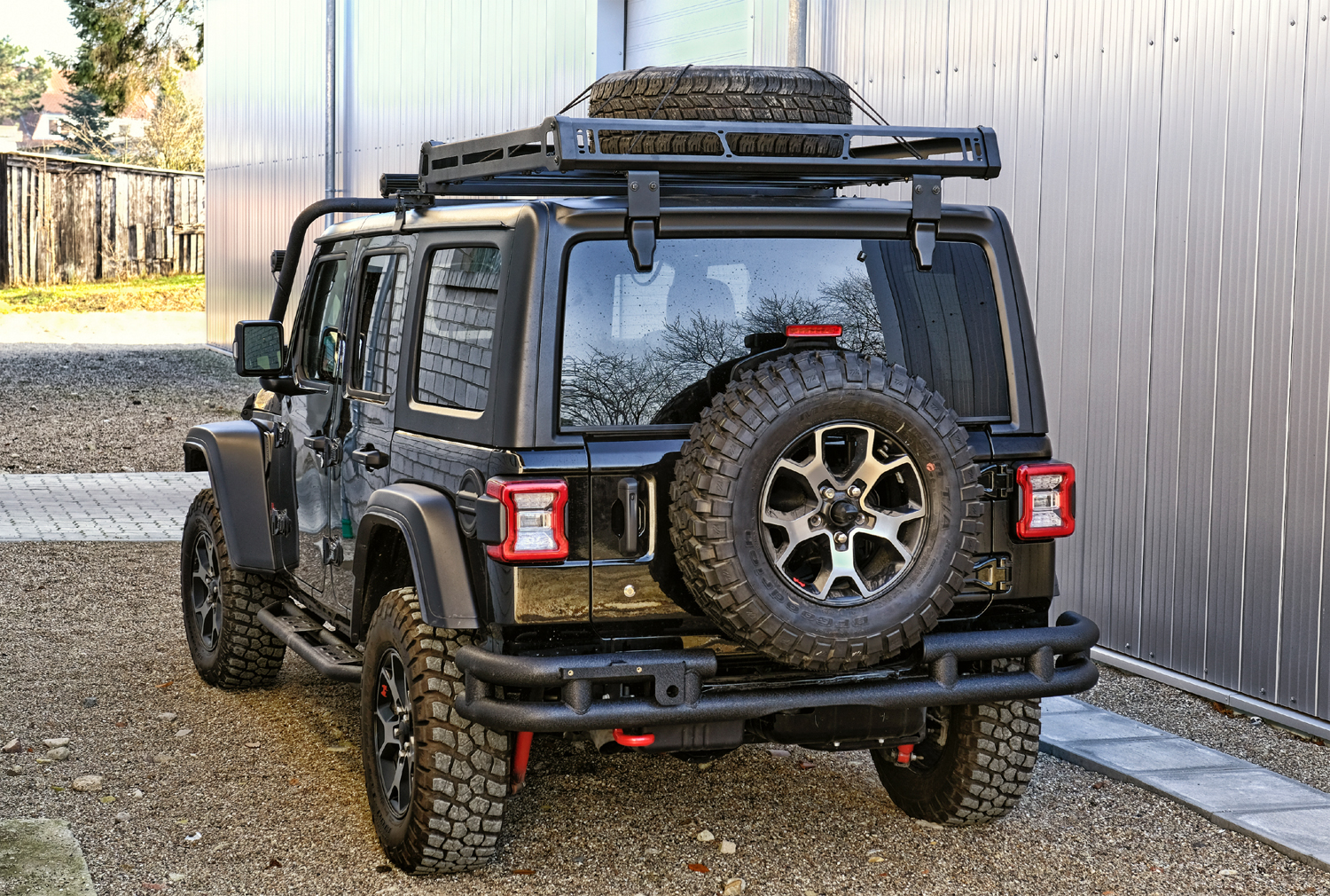 roof rack jeep wrangler jl 2018 2 4 doors black. Black Bedroom Furniture Sets. Home Design Ideas