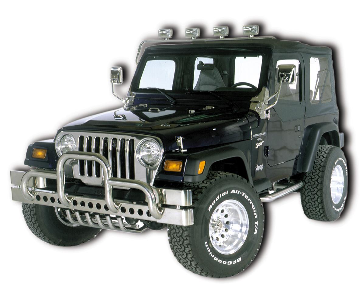 jeep wrangler tj 1996 2006 au enspiegelset. Black Bedroom Furniture Sets. Home Design Ideas