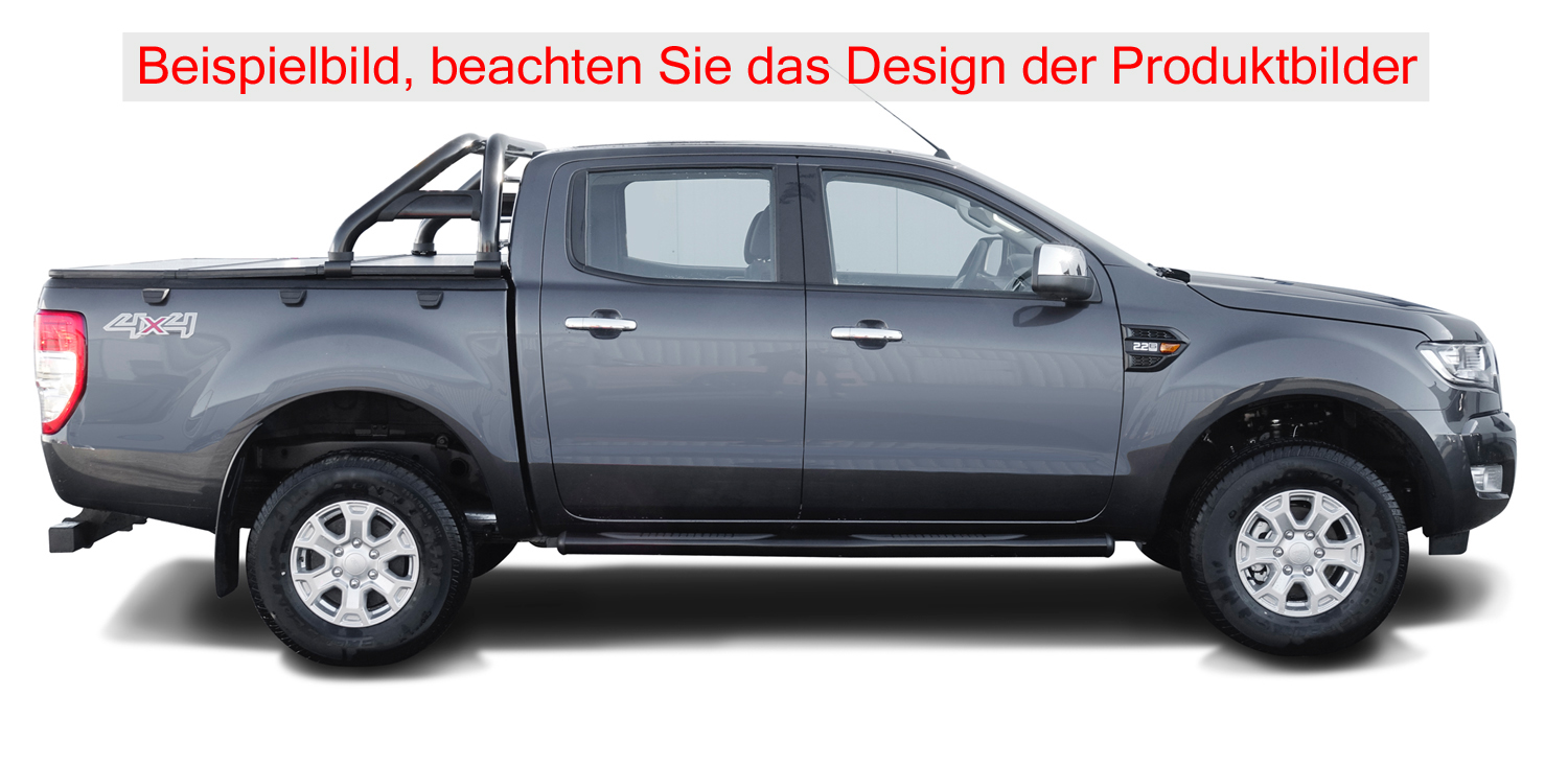 berrollb gel ford ranger 2012 rollbar black inkl. Black Bedroom Furniture Sets. Home Design Ideas