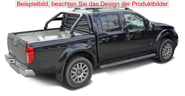 fahrzeugspezifischer berrollb gel nissan navara d40 2005 2015 schwarz ebay. Black Bedroom Furniture Sets. Home Design Ideas
