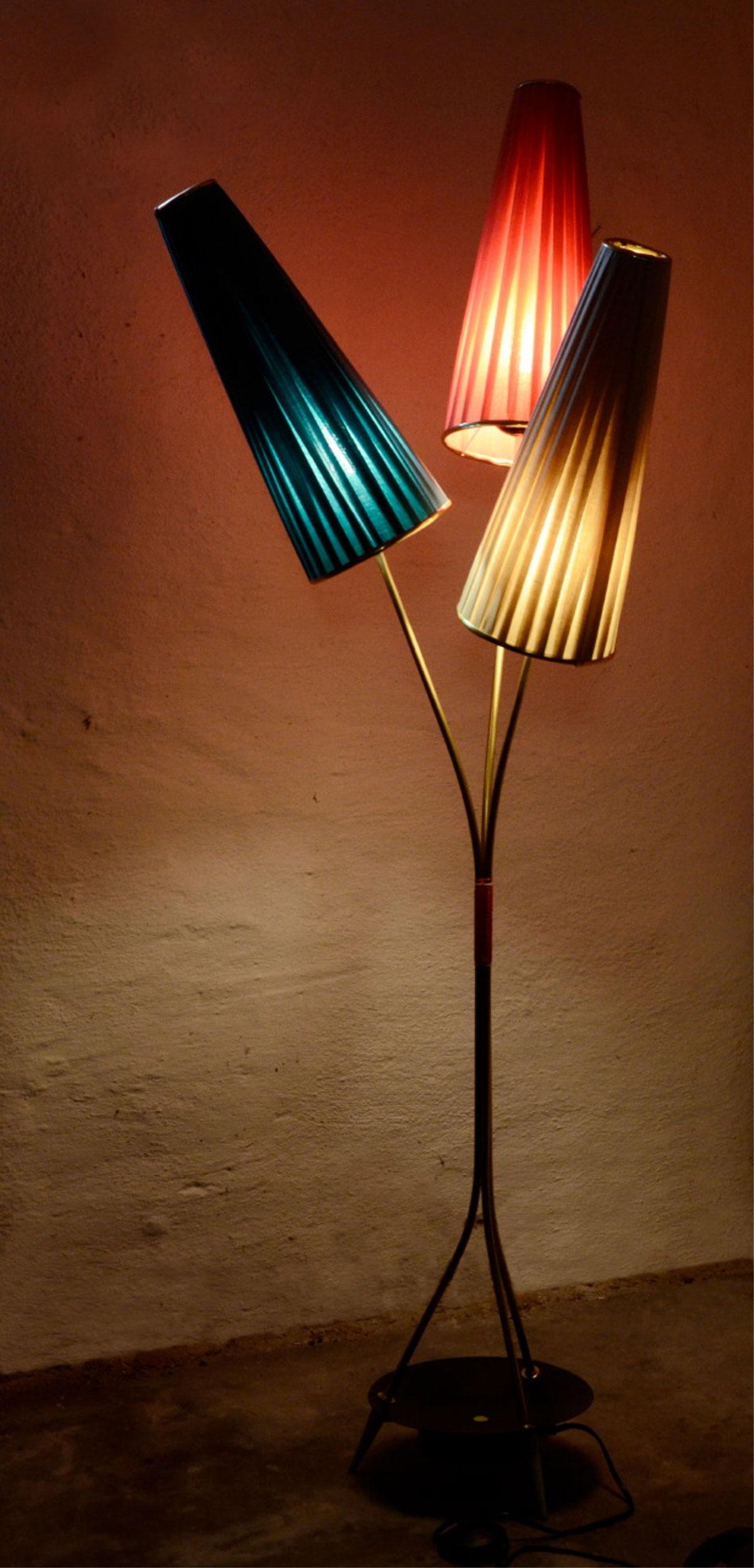 50er 60er jahre t tenlampe seltene stehlampe t tenleuchte 70er rockabilly ebay. Black Bedroom Furniture Sets. Home Design Ideas