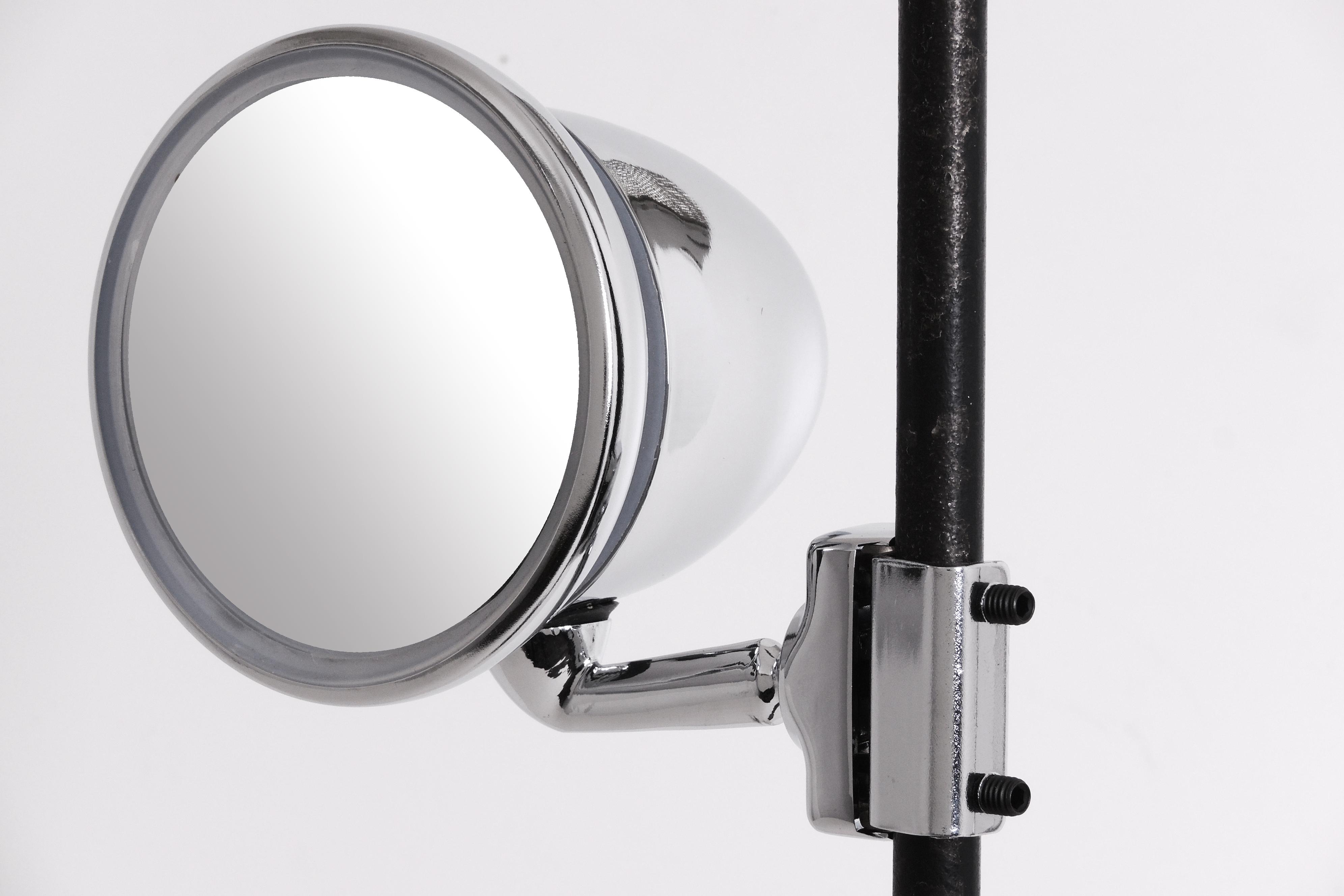 1x spiegel klemmspiegel chrom vw mercedes opel renault bmw for Spiegel youngtimer
