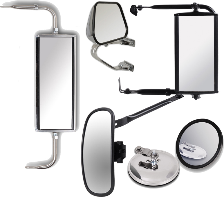 spiegel aussenspiegel vw bus transporter kasten edelstahl. Black Bedroom Furniture Sets. Home Design Ideas