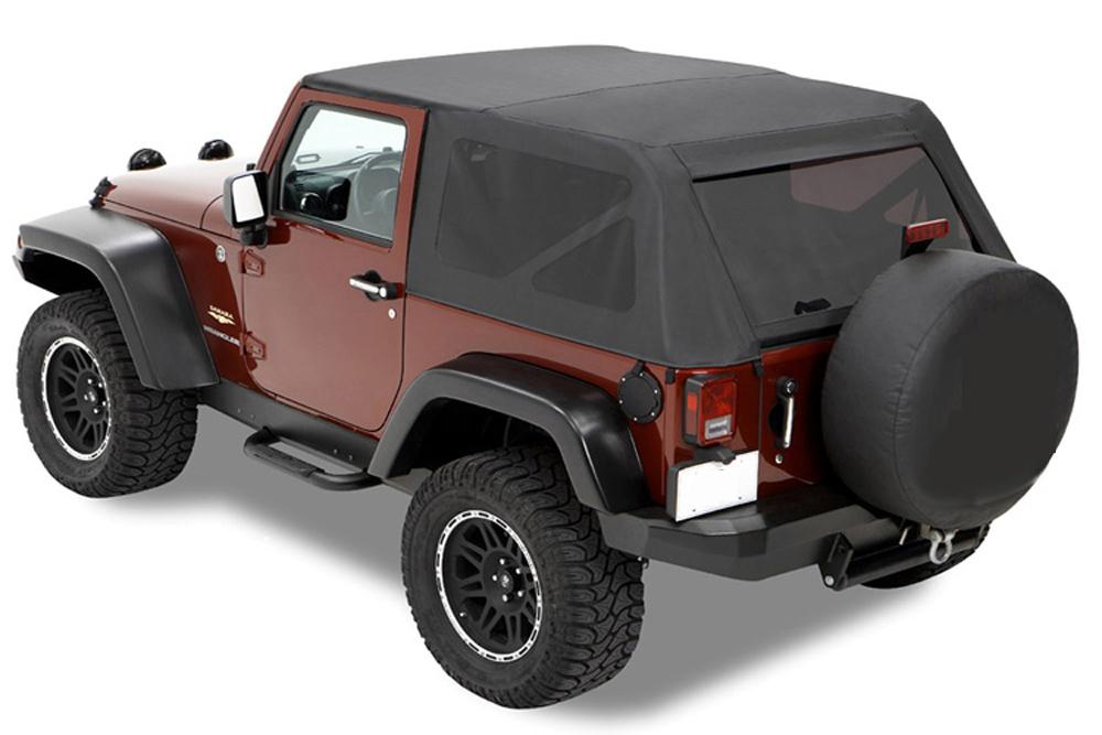 trektop verdeck bestop softtop jeep wrangler jk 2 t rer 2. Black Bedroom Furniture Sets. Home Design Ideas